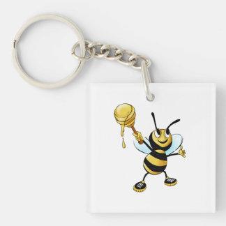 ディッパーを遅らせている微笑の漫画の蜂蜜の蜂 キーホルダー