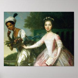 ディドのエリザベスの美女および女性マレー ポスター