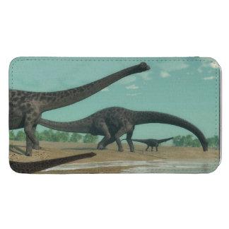 ディプロドクスの恐竜の群れ- 3Dは描写します GALAXY S5 ポーチ