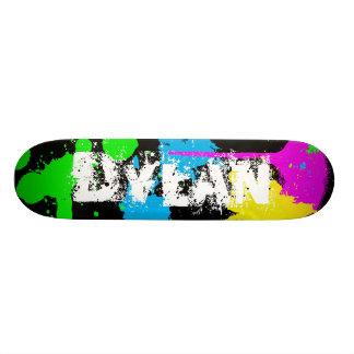 ディランのペンキの(ばちゃばちゃ)跳ねるのスケートボード スケートボードデッキ