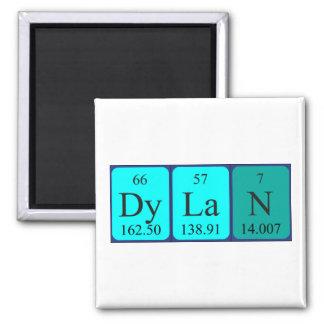 ディランの周期表の名前の磁石 マグネット