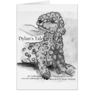 ディランの物語のリボン カード