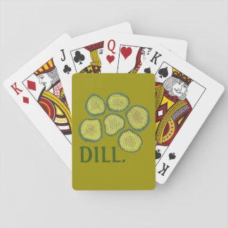 ディル(取り引き)のピクルスは緑のユダヤのピクルスを欠きます トランプ