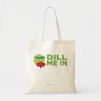 """""""ディル"""" Pickleballのトートバックの私 トートバッグ"""