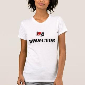 ディレクターおよびマスクの女性Tシャツ Tシャツ