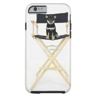 ディレクターの椅子の柴犬犬 ケース