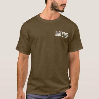 ディレクタークラシックな基本的なT.Shirt (茶色) Tシャツ