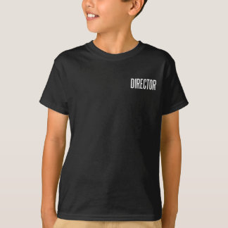 ディレクター基本的な黒T.Shirt Tシャツ