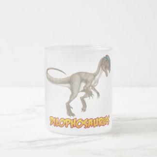 ディロフォサウルス フロストグラスマグカップ