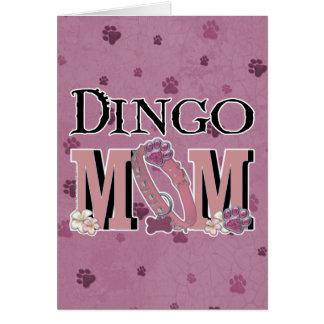ディンゴのお母さん カード
