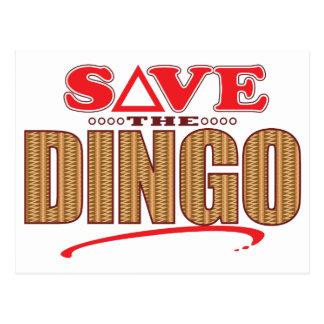 ディンゴの保存 ポストカード