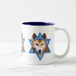 -ディンゴハヌカーのダビデの星 ツートーンマグカップ