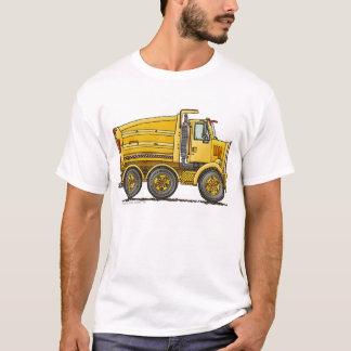 ディーゼルタンデムダンプトラックの建築の服装 Tシャツ