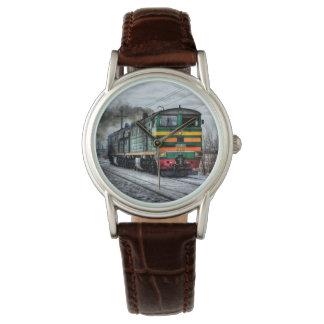 ディーゼル列車機関車のギフト 腕時計