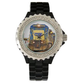ディーゼル機関車の腕時計 腕時計