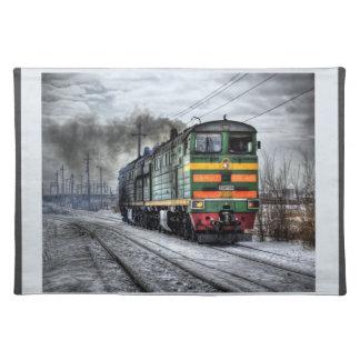 ディーゼル機関車 ランチョンマット