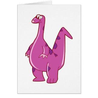 ディーノのサンキューカードの子供へに書面で学ぶこと カード