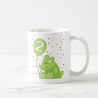 ディーノのベビーの第2誕生日 コーヒーマグカップ