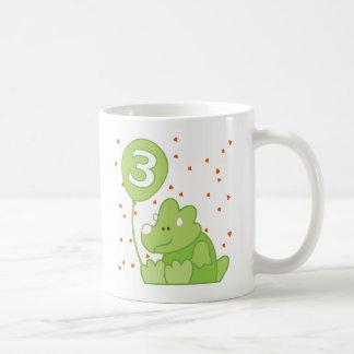 ディーノのベビーの第3誕生日 コーヒーマグカップ