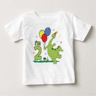 ディーノの第2誕生日 ベビーTシャツ
