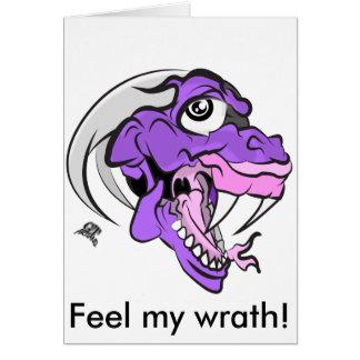 ディーノの紫色の頭部 カード
