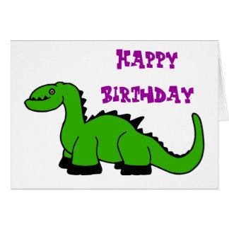 ディーノの緑の誕生日 カード