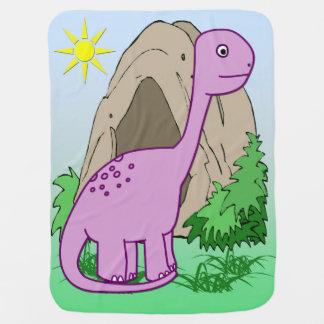 ディーノ恐竜のかわいいベビーブランケット ベビー ブランケット