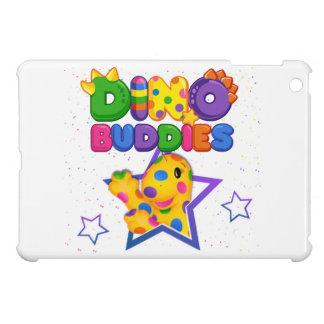 ディーノBuddies™の小型iPadの堅い場合- Rollo w/Star iPad Miniケース
