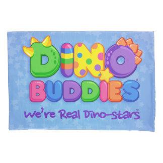 ディーノBuddies™の枕場合ディーノ相棒のロゴ(青い) 枕カバー