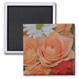 デイジーのバラの花の平和信頼のスマイル愛Juanita マグネット