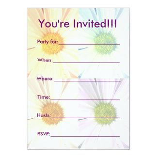 デイジーのパーティーInvititationのために熱狂する カード