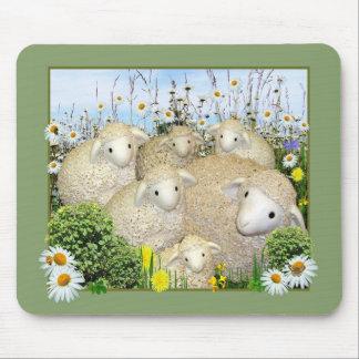 デイジーの牧草地の   マウスパッド