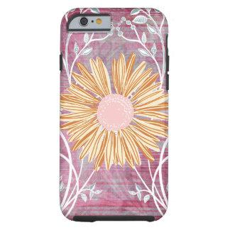 デイジーの花の花のシックなiPhone6ケース ケース