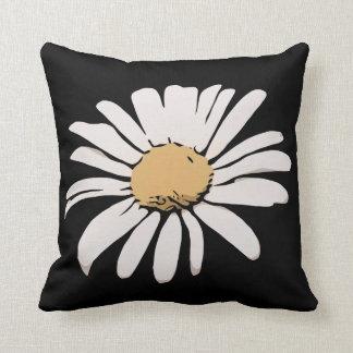 デイジーの花柄の枕 クッション