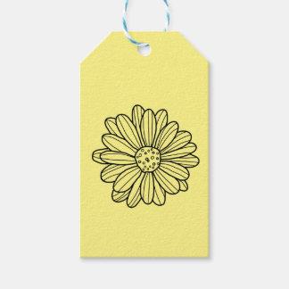 デイジーの花 ギフトタグ