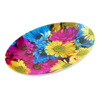 デイジーの虹 磁器大皿