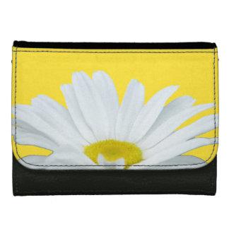 デイジーの財布の黄色の野生の花の花の財布