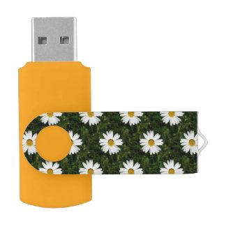 デイジーの開花の継ぎ目が無いパターン + あなたのアイディア USBフラッシュドライブ