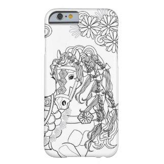 デイジーの馬のAppleの意気揚々と歩くiPhone 6/6sは場合に電話をかけます Barely There iPhone 6 ケース