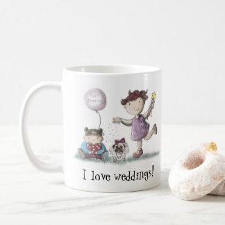 デイジーは結婚式を愛します コーヒーマグカップ
