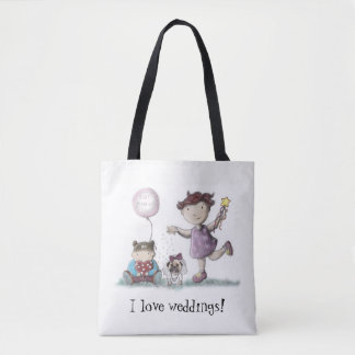 デイジーは結婚式を愛します トートバッグ