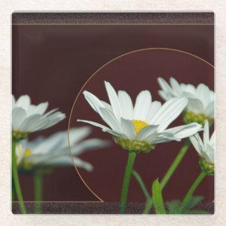 デイジー ガラスコースター