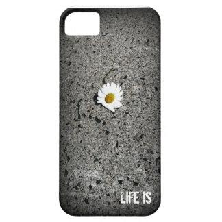 """デイジー""""生命""""はiPhone SEです + iPhone 5/5S iPhone SE/5/5s ケース"""