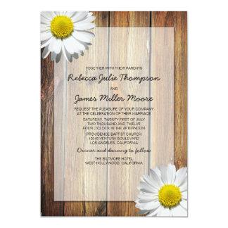 デイジー-納屋木-結婚式招待状 カード