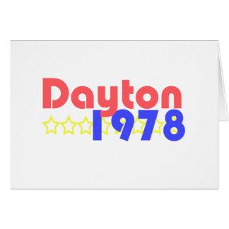 デイトン1978年 カード