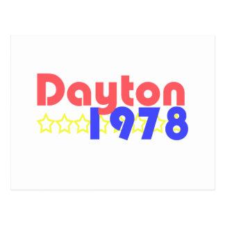 デイトン1978年 ポストカード