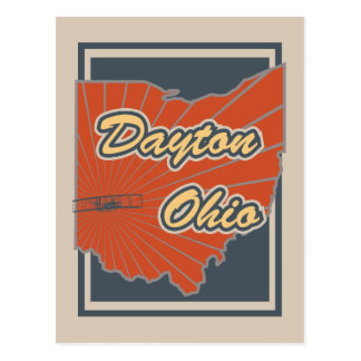 デイトン、オハイオ州の郵便はがき-旅行郵便はがき ポストカード