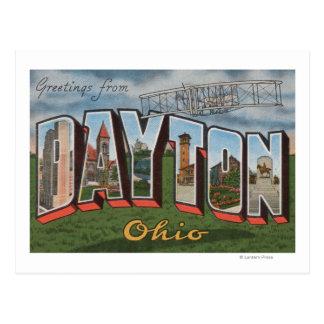 デイトン、オハイオ州(ライト兄弟の飛行機) ポストカード