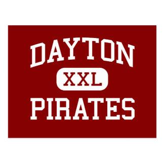 デイトン-海賊-中学校-デイトンオレゴン ポストカード