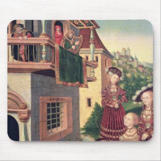 デイヴィッドおよびBathsheba 1528年 マウスパッド